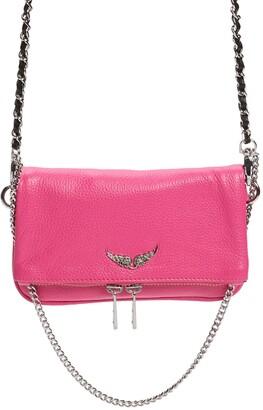 Zadig & Voltaire Nano Rock Leather Crossbody Bag