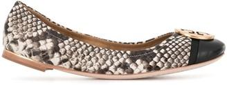 Tory Burch Minnie toe-cap ballerina shoes