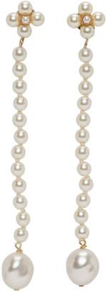 Loewe White Pearls Earrings