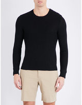 Ralph Lauren Purple Label Textured Knitted Jumper