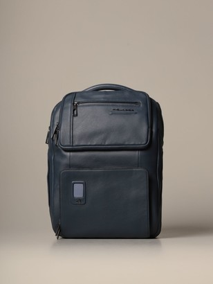 Piquadro Akron Large And Customizable Fast-check Backpack