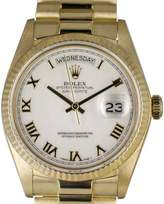 Rolex Day Date 18038 18K Yellow Gold 36mm Unisex Watch