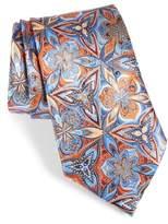 Ermenegildo Zegna Quindici Floral Silk Tie