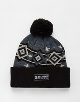 Element Stanton Bobble Beanie Hat - Grey