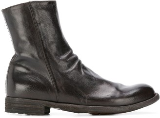 Officine Creative LEXIKON zipped ankle boots
