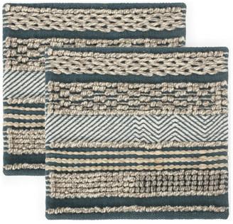 Gdfstudio Anton Hand-Loomed Boho Pillow Cover, Set of 2