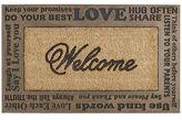 Pier 1 Imports Words of Welcome Doormat