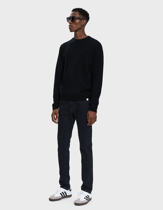 Norse Projects Sigfred Lambswool Sweater in Black