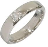 Van Cleef & Arpels 950 Platinum Diamond Wedding Ring Size 3.75