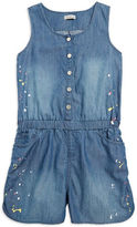 Calvin Klein Jeans Girls 7-16 Girls Denim Romper