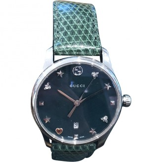Gucci Green Steel Watches