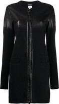 Chanel Pre Owned Chanel Pre-Owned CSIP0918CHAJAC2R BLACK Wool/Lambskin