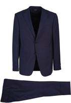 Ermenegildo Zegna single-breasted suit. Jacket