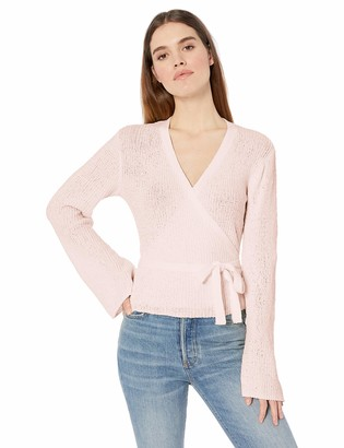 Cupcakes And Cashmere Women's Imelda Chenille wrap Sweater