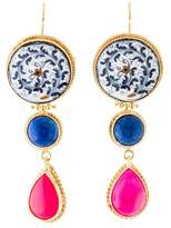 Tagliamonte Lapis & Ceramic Drop Earrings