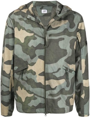C.P. Company Camouflage Print Sports Jacket