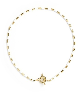 Arms Of Eve Talya Gold & White Necklace