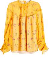 Emilia Wickstead Printed Silk Blouse