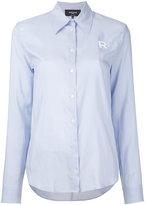 Rochas embroidered R shirt - women - Silk - 40