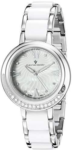 MOP Christian Van Sant Women's CV7610 Analog Display Quartz Two Tone Watch