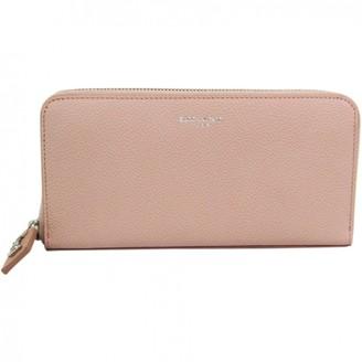 Saint Laurent Pink Leather Wallets