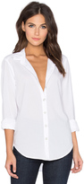 Velvet by Graham & Spencer Minnie Cotton Shirting Button Down Top