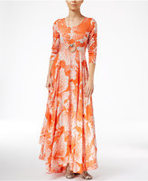 Free People Printed Maxi Dress