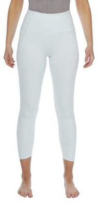Danskin Women's Active Shirred 7/8 Legging
