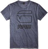 G Star Men's Logo Print T-Shirt