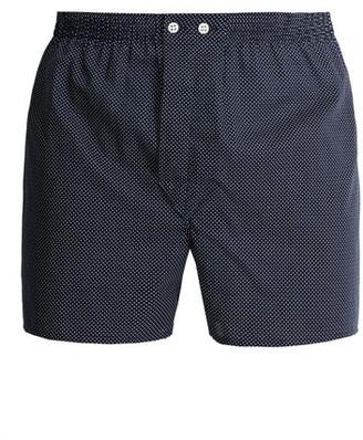 Derek Rose Pin Dot Cotton Boxer Shorts - Mens - Navy Multi