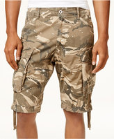 G Star Men's Camo-Print Cargo Shorts