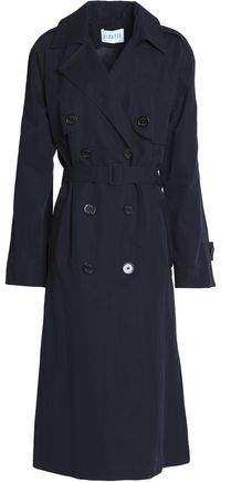 Claudie Pierlot Cotton-Blend Twill Trench Coat