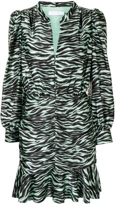 Jonathan Simkhai Zebra-Print Dress