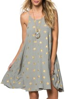 O'Neill Women's Faye Star Print Dress