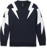 Neil Barrett - Panelled Jersey Sweatshirt