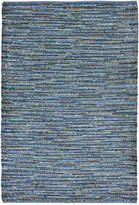 Liora Manné Sahara Indoor/Outdoor Plains Blue 2' x 8' Runner Rug