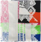 Pierre Louis Mascia Pierre-Louis Mascia woven pattern scarf
