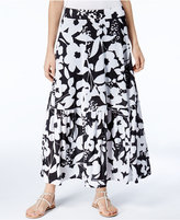 INC International Concepts Floral-Print Maxi Skirt, Only at Macy's
