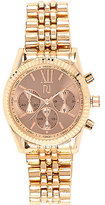 River Island Womens Rose gold tone chunky watch