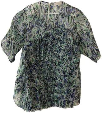 Stella McCartney Stella Mc Cartney Green Silk Top for Women