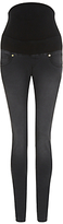 Isabella Oliver Zadie Super Stretch Skinny Maternity Jeans, Charcoal