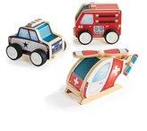 Guidecraft Jr. Plywood Community Vehicles