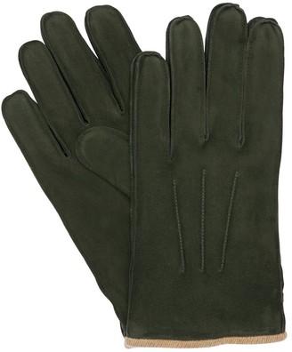 Mario Portolano Suede Gloves
