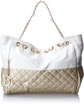 MG Collection Camryn Quilted Oversized Hobo Handbag
