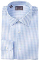 Ike Behar Oxford Check Full Fit Dress Shirt