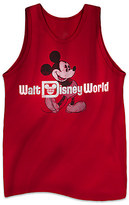 Disney Mickey Mouse Classic Tank Tee for Adults - Walt World - Red