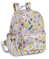 Bari Lynn Graphic Glitter Backpack