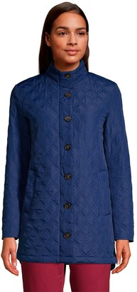 Lands' End Women's Packable Insulated Quilted Barn Coat