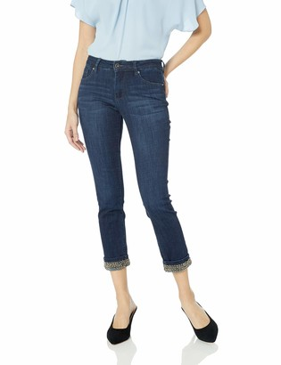 Jag Jeans Women's Maddie Skinny Jean with Beaded Cuff