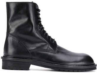 Ann Demeulemeester side zip boots